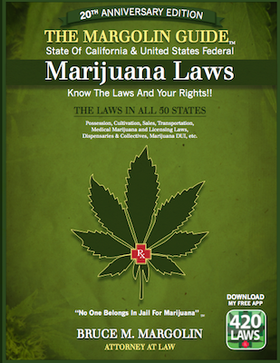 margolin guide to marijuana laws book cover